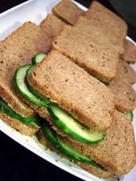 rye bread canapes cucumber on rye canapes recipe all recipes uk