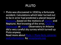 pluto dwarf planet pluto pluto smallest planet