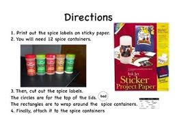 spicy words for writing with spice containers by mrs robbins tpt