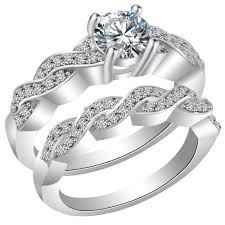 does the woman buy the s wedding band click to buy cubic zirconia ring luxury women engagement ring