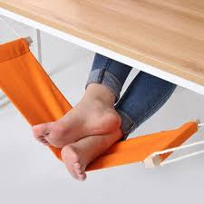 desk foot rest adjustable desk foot hammock feet rest pedal for