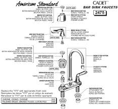 how to repair american standard kitchen faucet american standard kitchen sinks parts roselawnlutheran