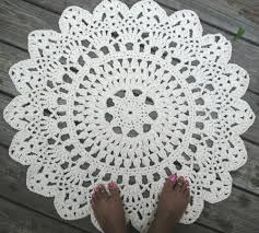 crochet rug patterns free free crochet pattern rug manet for