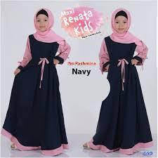 Baju Muslim Dewasa Ukuran Kecil dress anak perempuan lazada
