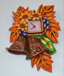 paper mache home decor handmade paper mache wall clock buy with 26 discount offer from