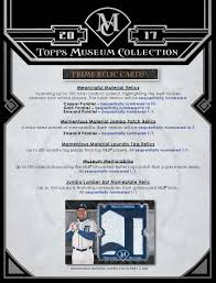 2017 topps museum collection baseball cards a premium experience