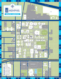 Southpark Mall Map Uofm Campus Maps Campus Maps University Of Memphis