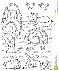 forest animal coloring pages and animals snapsite me