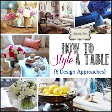 Style A Coffee Table 6 Approaches To Styling A Coffee Table Tidbits Twine