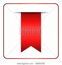 red bookmark banner vertical book vector u0026 photo bigstock