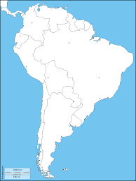 map of cities in south america south america free map free blank map free outline map free