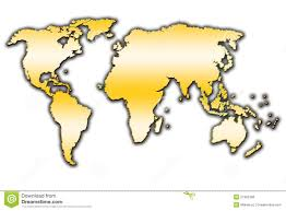 Map Of The World Outline by World Outline Map Stock Photo Image 27382780