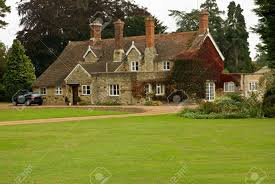 a stone and pantile english country house stock photo picture and