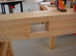 Woodworking Workbench Top Material by Roubo Workbench Chesapeake Woodworking