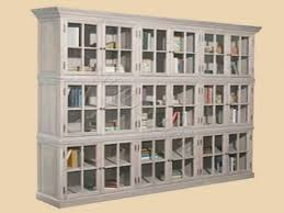 Ikea Bookcases With Glass Doors Alluring Billyoxberg Bookcase Whiteglass 160x202x30 Cm Ikea Glass