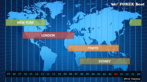World Time Clock Map by Market Hours