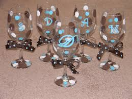 wine glass party favor personalized wine glasses sweet 16 party favors other wine glass