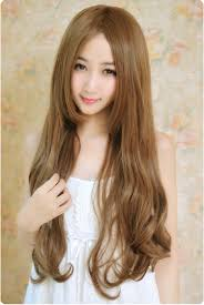 long hair on short hair and model