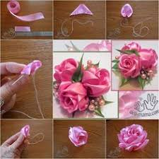 satin ribbon flowers diy ribbon roses how to diy satin ribbon projects to try