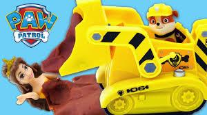 paw patrol italiano apertura gioco rubble bulldozer episodio pongo