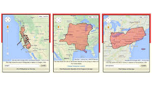Map Size Comparison What U0027s Bigger Yemen Or Virginia There U0027s An App For That Goats