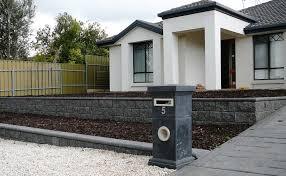 brilliant front garden retaining wall front garden retaining walls