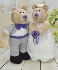 wedding gift knitting patterns knitting pattern and groom wedding doll knitting pattern