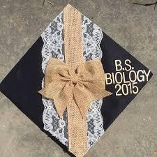 blue graduation cap decoration