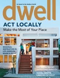 Home And Design Magazine Dwell Magazine Likes Wood Slats