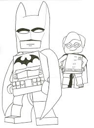 batman coloring book pdf picture robin pages free print