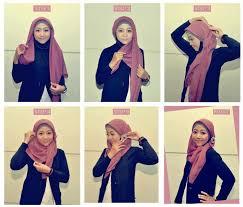 tutorial hijab segitiga paris simple 10 gaya hijab segi empat yang beda buat pipi chubby sai gaya