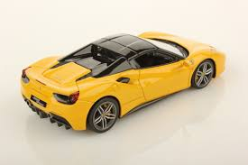 ferrari spider ferrari 488 spider hard top 1 43 looksmart models