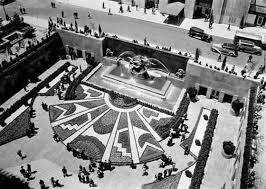 Rockefeller Center Summer Garden - new york architecture images rca building art deco designs