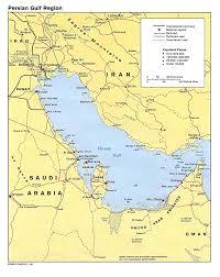 Bahrain Map Middle East by Bahrain