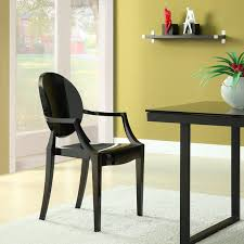 nuevo colter leather dining arm chair hayneedle