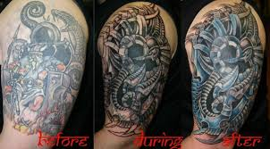 biomechanical cover up designs tattooshunt com