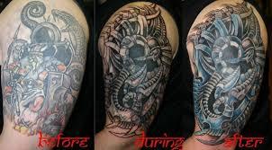 biomechanical cover up tattoo designs tattooshunt com