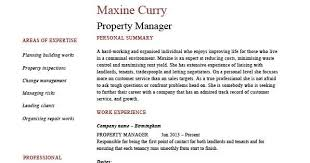 Property Management Resume Samples by Property Manager Resume Property Manager Resume Sample Sample