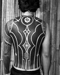 70 all black tattoos for blackout design ideas