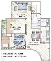 Layout Apartment 26 Best Disenos De Apartamentos Images On Pinterest Small