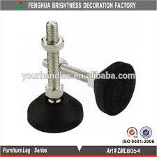 plastic table leg feet plastic adjustable leveling feet articulated feet table leveling