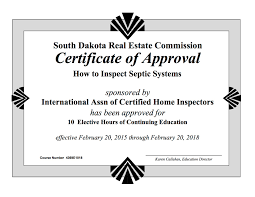 Home Inspector by How To Become A Home Inspector In South Dakota Internachi