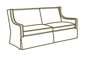 Leather Apartment Sofa L121111 In By Lee Industries In Jacksonville Fl L1211 11