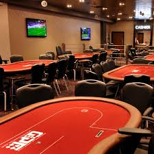the poker room about
