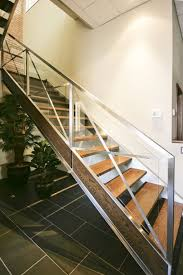 Stainless Steel Stairs Design Decorations Stainless Steel Stair Design With Glass
