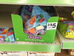 brachs bunny basket eggs brach s bunny basket eggs 0 39 at walgreens with coupon