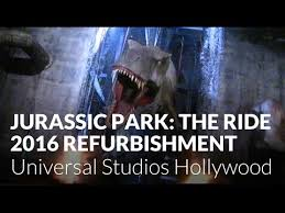 jurassic park the ride 2016 refurbishment at universal studios
