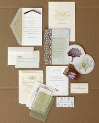wedding colors green and brown martha stewart weddings