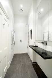 Narrow Bathroom Design Bathroom Homely Design Small Narrow Bathroom Designs Home Ideas