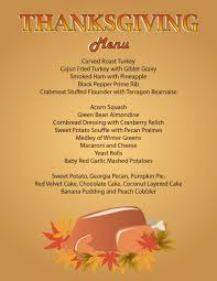 thanksgiving thanksgiving menu dinner fantastic photo